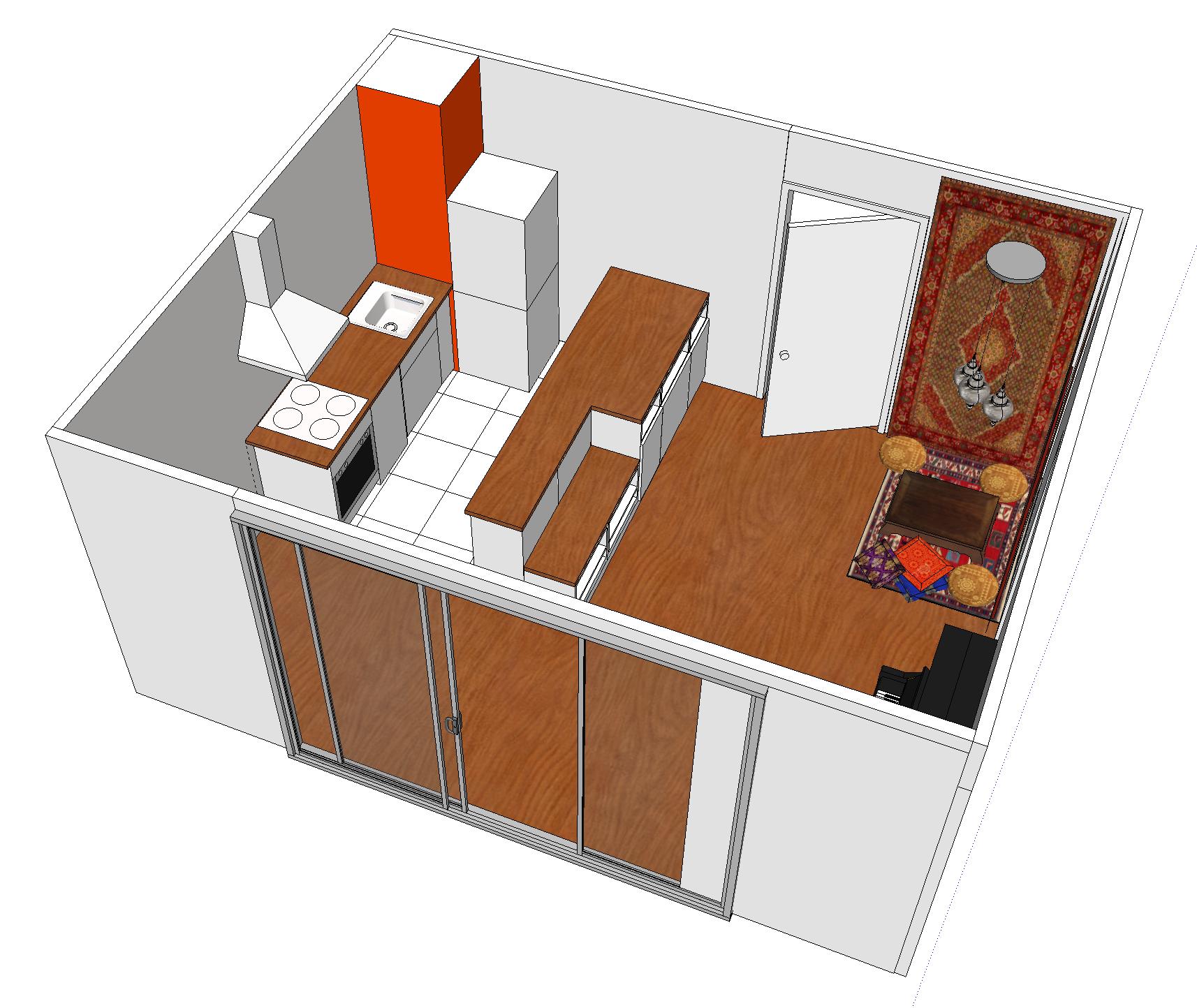 Beau plan cuisine 3d gratuit renaa conception for Plan 3d cuisine ikea